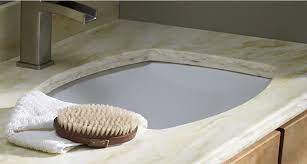 Installing Sink Strainer In Corian by Get The Thickness Of Granite And Quartz Vanity Tops With The