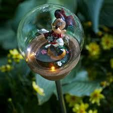Disney Fairy Garden Decor by Disney Outdoor Garden Decor Kmart Com Minnie Mouse Solar Stake
