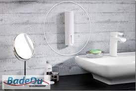 fackelmann wattepad spender 86910 badedu badezimmer