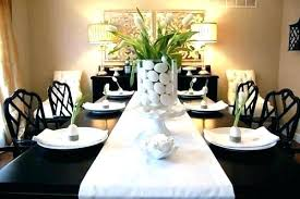 Dining Table Decor Modern Centerpieces Room