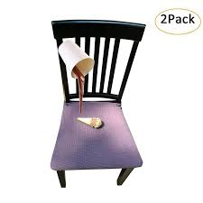 Waterproof Dining Chair Cover Protector - Pack Of 2 - Perfect For Pets,  Kids, Elderly, Wedding, Party - Machine Washable, Elastic, Removable,  Premium ... Make Your Dinner Table A Place To Tarry With These Stylish Seats 10 Best Ding Chair Seat Covers 2019 Shopping Guide Bestviva Haizhen Chairs Sofas Stools Elderly Solid Wood Home How To Help Someone Stand Up Ask The Audience Go With My New Ding Table Emily Lazy Lounge Recling Nap For Indoor Tribeca Counterheight 4 Side And Bench Tobacco 1 Comfortable For Comfortable Chairs Home Room Arms Wooden Simple Round Casters Fniture Page1 Wheels Task