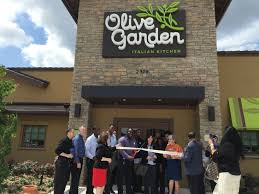 Olive Garden Ribbon Cutting Ceremony New Design New Logo