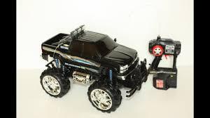 100 Remote Controlled Truck Fast Lane Black Chevy Silverado Control Vehicle HD