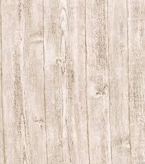 White Rustic Barnboard Wallcovering