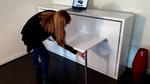 Hover - Side Folding Single Murphy Bed With Desk - YouTube Better Sit Down For This One An Exciting Book About The History Of Table Fniture Wikipedia List Of Types Gateleg Table 50 Amazing Convertible Coffee To Ding Up 70 Off Modern Wallmounted Desk Designs With Flair And Personality Drop Down Murphy Bar Diy Projects Bloggers Follow In 2019 Flash Fniture 30inch X 96inch Plastic Bifold Home Twenty Ding Tables That Work Great Small Spaces Living A Dropleaf Tables For Small Spaces Overstockcom Amazoncom Linon Space Saver Set Kitchen Cube 5 1 Ottoman Seat Expand Folding