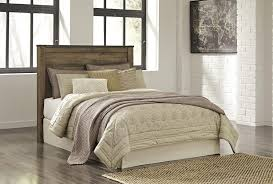 Bed Frame With Headboard And Footboard Brackets by Rustic Look Queen Panel Headboard With Metal Brackets By Signature