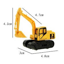 Christmas Gift 8 Types Diecast Mini Alloy Construction Vehicle ...