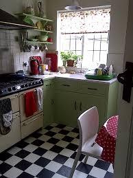 Fifties Kitchen Blinds Love This Floor