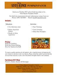 Pumpkin Patch Fresno Clovis by Pumpkin Patch U2013 Vista Ranch And Cellars