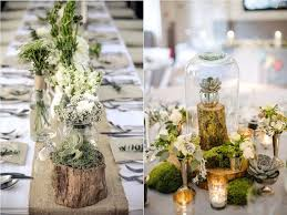 table mariage nappe beige les belles tables idee deco