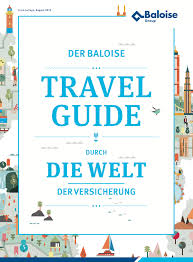 Illustrated Maps For The Baloise Travelguide Through World Of Insurance Each Map Tells Story Different Island 2015