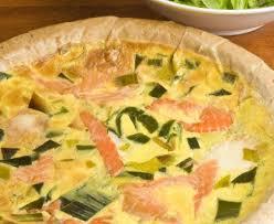 cuisiner une quiche quiche aux poireaux et saumon frais recette de quiche aux poireaux