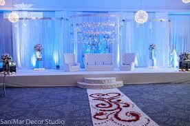 Sani Mar Decor Pakistani Wedding Decorations Muslim Stage Sanimar