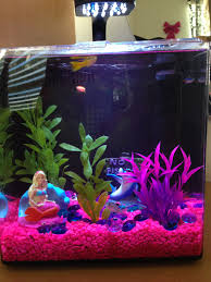 Spongebob Aquarium Decor Set by Barbie Themed Fish Tank Fish Tank Bowl Ideas Pinterest ενυδρείο