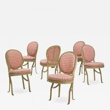 Set Of Six French Antique Painted Theater Seats Dining Chairs Circa 1890 How To Transform A Vintage Ding Table With Paint Bluesky Pating My Antique Six Edwardian French Painted Chairs 364060 19th Century Country Set Of 6 Balloon Back Good 1940s Faux Bamboo Eight 1920s Pair Regency 2 Side White Chippy Chair Early 20th Louis Xvi Chairsset 8 Abc Carpet Home Style Fniture And European Buy Cheap Punched Wood Handpainted