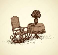 Vector Drawing Comfortable Rocking Chai Near The Round Table ... Blues Clues How To Draw A Rocking Chair Digital Stamp Design Free Vintage Fniture Images Antique Smith Day Co Victorian Wooden With Spindleback And Bentwood Seat Tell City Mahogany Duncan Phyfe Carved Rose Childs Idea For My Antique Folding Rocking Chair Ladies Sewing Polywood Presidential Teak Patio Rocker Oak Childs Pressed Back Spindle Patterned Leather Seat Patings Search Result At Patingvalleycom Cartoon Clipart Download Best Supplement Catalogue Of F Herhold Sons Manufacturers Lawn Furnishing Style Wrought Iron Peacock Monet Rattan