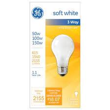 sale ge 3 way soft white light bulb k k hardware