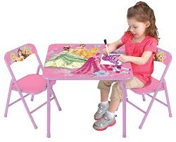 Princess Kitchen Play Set Walmart by Amazon Com Disney Princess Nouveau Activity Table Set Toys U0026 Games