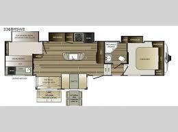 Wildwood Fifth Wheel Floor Plans Colors Keystone Cougar Fifth Wheel General Rv