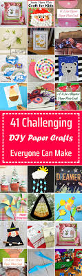 41 Challenging DIY Paper Crafts Everyone Can Make