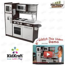 Kidkraft Grand Gourmet Corner Kitchen Play Set by Kitchen Play Kids Set Pretend Toy Child Toys Kidcraft Cooking Set