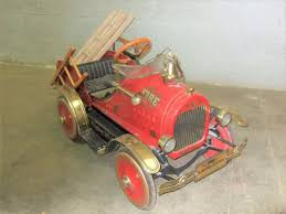 Fire Engine Pedal Car | Vintage Pedal Cars | Pinterest | Pedal Car ... Antique Hook And Ladder Fire Truck Pedal Car 275 Antiques For Price Guide American Fire Truck Pedal Car Second Half20th Restoration C N Reproductions Inc Instep Riding Toy Hayneedle Childs Red Toy Pedal Car Based On An American Fire Truck Amazoncom Instep Toys Games 60sera Blue Moon Gearbox Vintage Firetruck Cars Pinterest Cars Withrows Body Shop Rare Large Structo Jeep Red Firetruck With Airbags Stuff