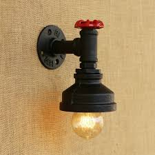american loft style vintage wall l industrial creative bedroom