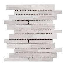 jeff lewis walden 10 in x 11 7 8 in x 8 mm limestone mosaic tile