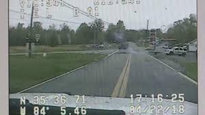 DASHCAM: Deputy Shoots After Woman Rams Cruiser