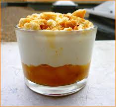 verrines de pêches au yaourt la cuisine de morgane