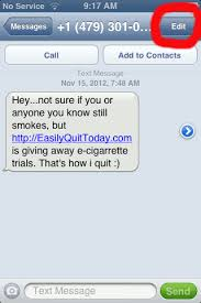 How to report Text Message Spam on an iPhone