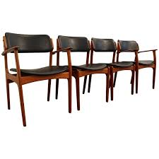 Dining Room Perfect Four Chairs Luxury Set Of Erik Buch For O D