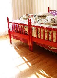 I would love for the girls to have matching Jenny Lind beds I