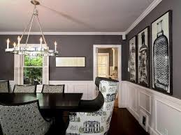 Image Of Gray And White Dining Room Ideas
