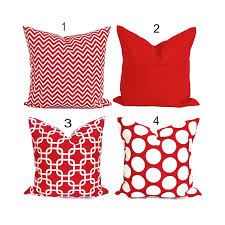 Red Decorative Pillows by Solid Red Pillow Covers Red Pillow Cover Decorative Pillow
