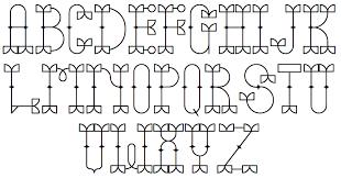 Robu Bold 2010 Rons Old Patterns Bare Rosart Initials Rustic Alphabet Sacon Inititals Saks Bilined Schmale Jonisch