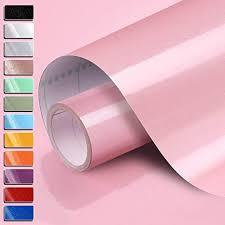 0 61x5 5m pvc selbstklebend möbel klebefolie küchenschrank aufkleber schrankfolie schlafzimmer wand tapeten roller küche folieren rosa mit kostenloses