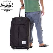 HERSCHEL SUPPLY Herschel Supply Carry Bag Travel Pack Wheel PARCEL Mens Womens 62L Regular