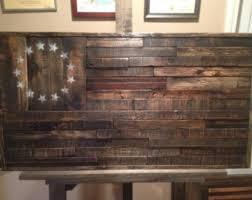Reclaimed Wood American FlagHandmade Flag Rustic Home DecorReclaimed