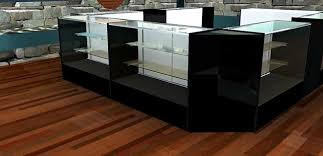 Standard Glass Showcases And Jewelry Display Cases In Half View To Full Extra Vision Series