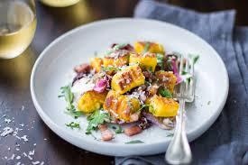 Pumpkin Gnocchi Recipe by Gluten Free Pumpkin Ricotta Gnocchi With Pancetta And Seared