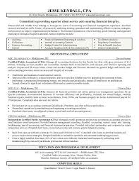 Cpa Resume Examples Microsoft Word JK CPA