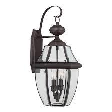 shop portfolio brayden 20 25 in h bronze outdoor wall light at