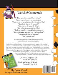 Theater Curtain Fabric Crossword by World Of Crosswords No 47 The Puzzle Wizard 9781481276788