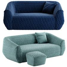 100 Ligne Roset Uncover Sofa 3D Model