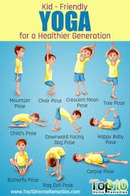 10 Easy To Do Yoga Poses For Kids By Top10homeremedies