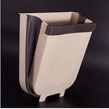 culer folding abfalleimer küchenschranktür hänge mülleimer abfalleimer wand befestigte mülleimer für badezimmer wc waste storage zufällige farbe