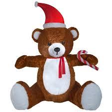 Holiday Living 85ft X 633ft Lighted Teddy Bear Christmas