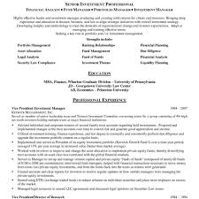 Asset Management Resume Original It Sample Ideas Tr U From