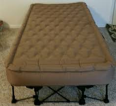 frontgate ez bed inflatable guest bed twin mattress needs repair